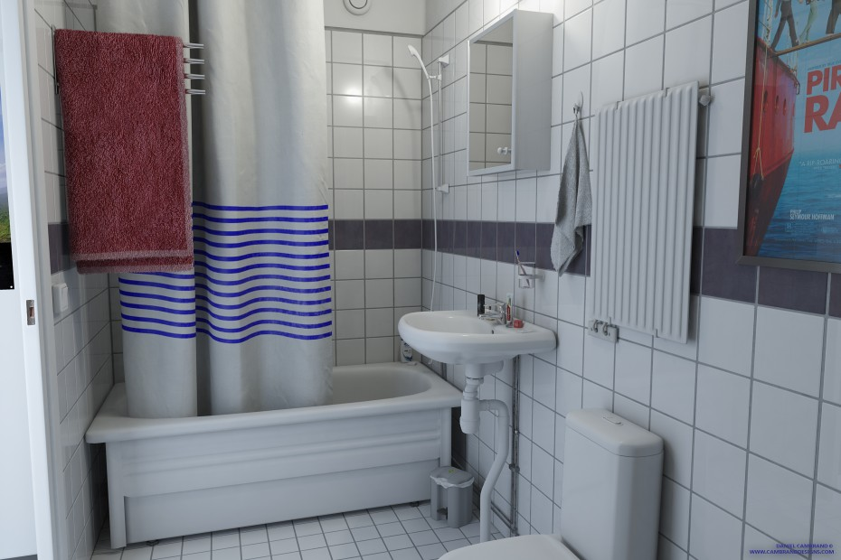 Neat Bathroom 3000x2000