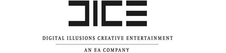 DICE Logo White