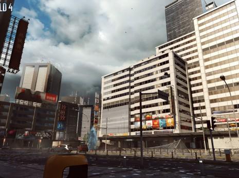 Siege of Shanghai skyscraper