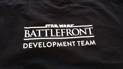 Star Wars Battlefront developer shirt